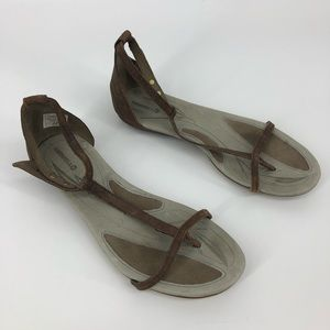 Merrell leather strap sandals